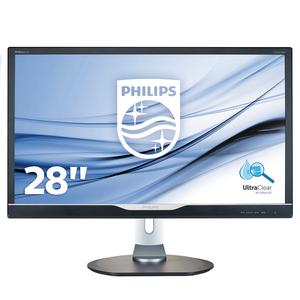 Philips 288P6LJEB - 71 cm (28 Zoll), LED, 4K Ultra HD, 1 ms, Höhenverstellung, USB-Hub, DisplayPort
