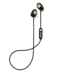 MARSHALL Minor II schwarz - Bluetooth In-Ear-Kopfhörer (12 Stunden kabellose Spieldauer, eingebautes Mikrofon)