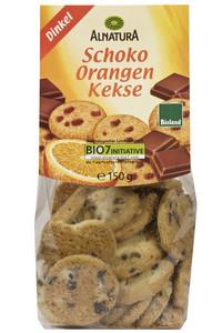 Alnatura Bio Schoko Orangen Kekse 150 g