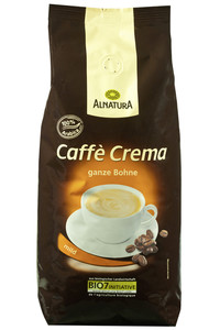 Alnatura Bio Caffè Crema ganze Bohne 1 kg