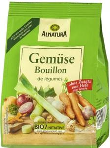 Alnatura Bio Gemüse Bouillon ohne Zusatz von Hefe Nachfüllpackung 290 g