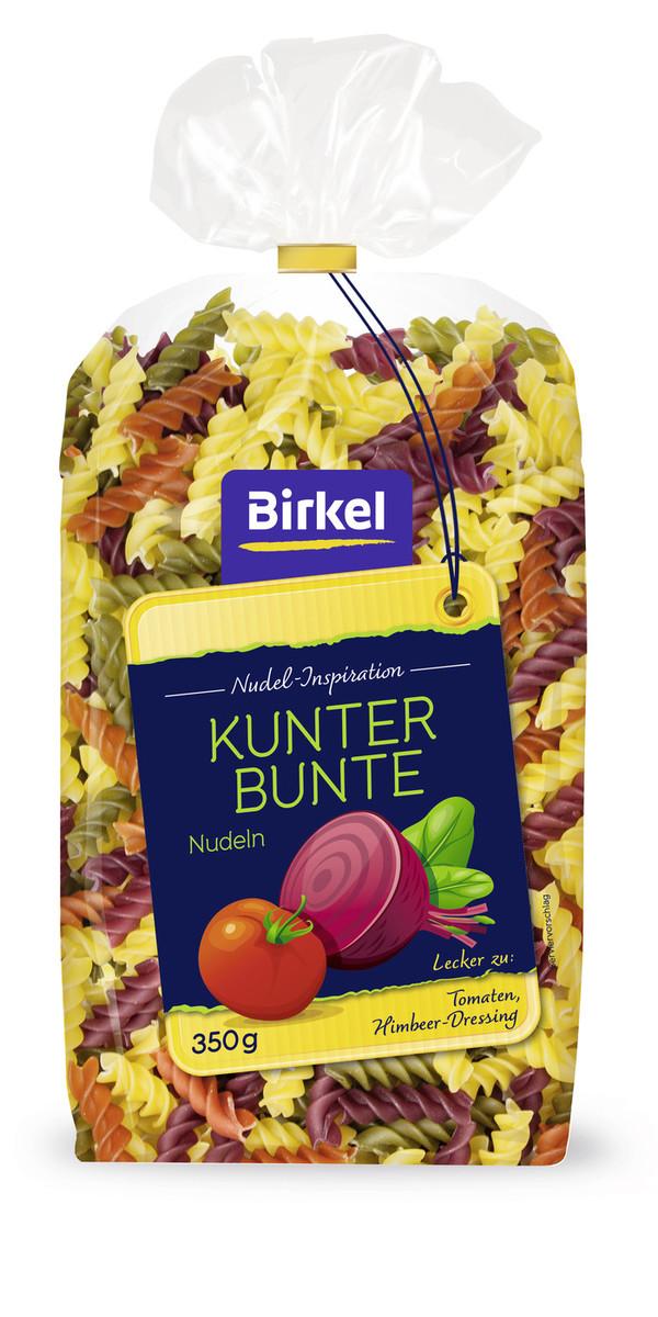 Birkel Nudel-Inspiration Kunterbunte Nudeln 350 g