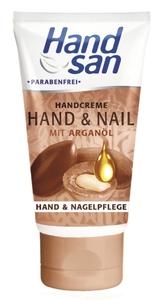 Handsan Hand & Nail Handcreme mit Arganöl 75 ml