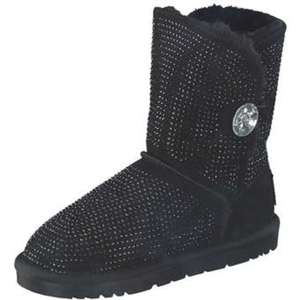 Leone Winter Boots Damen schwarz