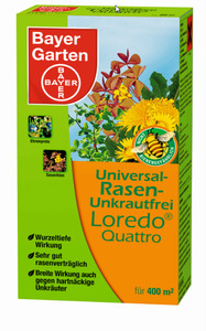 Uni-Rasenunkrautfrei Loredo Quattr 400ml SBV
