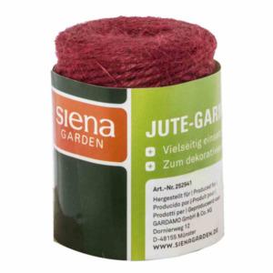 Siena Garden              Jutegarn 3mmx50m rot