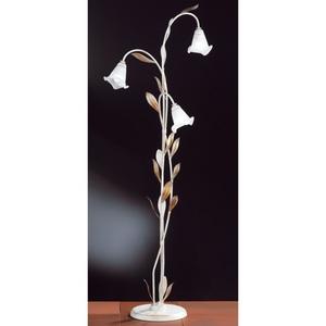 FISCHER & HONSEL Retrofit Stehlampe 3 flg VALENCIA 158 Weiß Antik