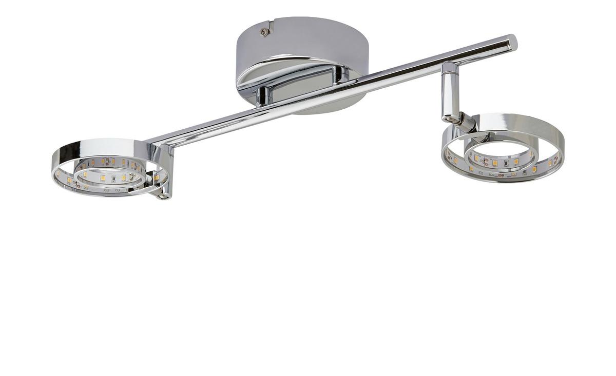 Bild 2 von LED- Deckenstrahler, 2-flammig, chrom
