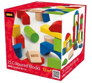 BRIO Holzbausteine 25 Teile