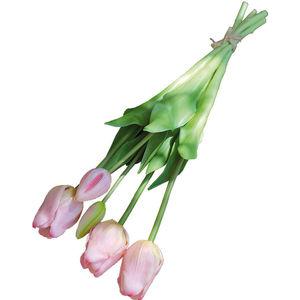 Andreas Kunstpflanzen Tulpenbund, französisch, 47 cm, mehrfarbig