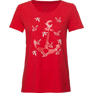 Tom Tailor Damen Rundhals T-Shirt