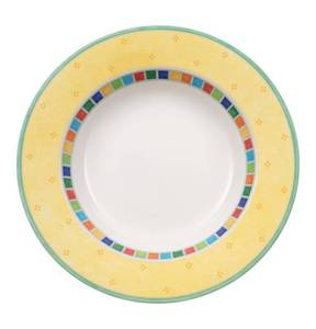 Villeroy & Boch                Twist Alea Limone                 Suppenteller, 24 cm