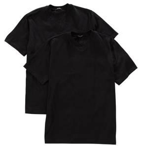 """SCHIESSER             Wäsche-Shirt """"American"""", 2er-Pack, V-Ausschnitt"""