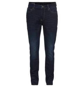 """manguun             Jeans """"Ben"""", tapered fit, Sitzfalten-Effekte"""