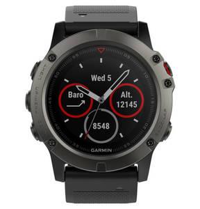GARMIN             fenix 5X Saphir Smartwatch 010-01733-01, Slate Gray