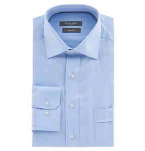 Rover & Lakes Comfort             Businesshemd, Comfort Fit, fein gemustert, Brusttasche, Kent-Kragen