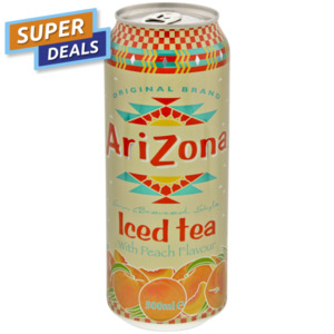 Arizona Eistee Pfirsich