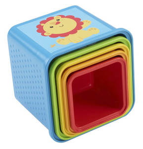 Fisher-Price             Bunte Stapelwürfel