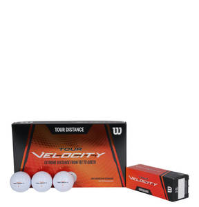 "Wilson             Golfball ""Tour Velocity"", 15er-Pack, Kompression 70"
