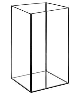 Dehner Windlicht Metall & Glas