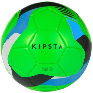 Fußball Sunny 500 Größe 5 grün/blau/schwarz