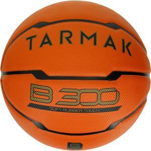 Basketball B300 Größe 6 orange für Einsteiger
