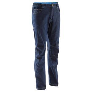Kletterhose Jeans Herren blau