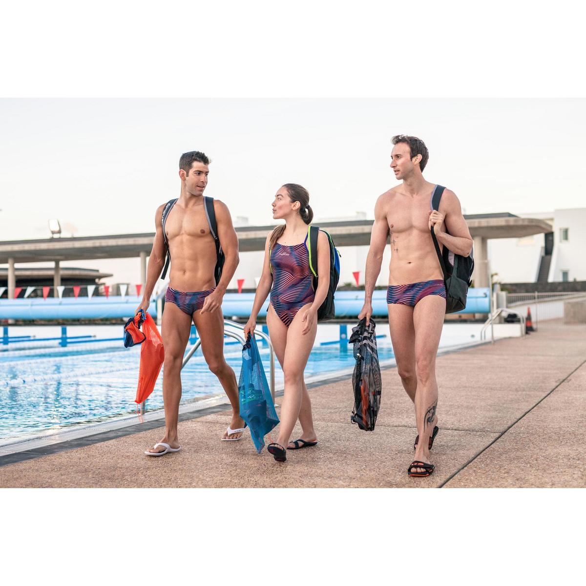 Bild 2 von Schwimmbeutel blau/orange