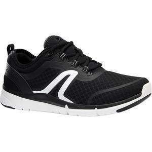 Walkingschuhe Soft 540 Mesh Damen schwarz/weiß
