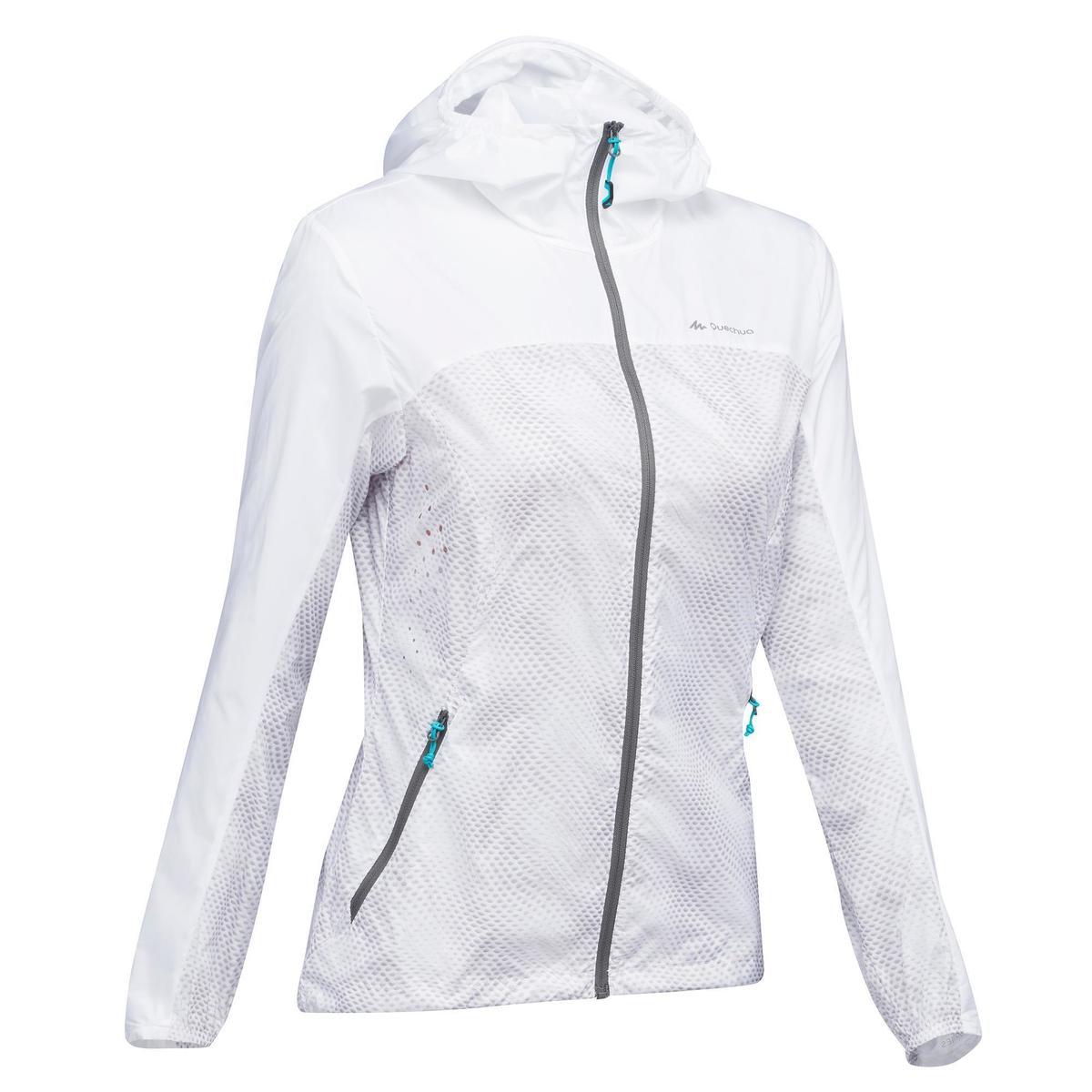 Bild 1 von Windjacke Speed-Hiking FH500 Helium Damen weiß
