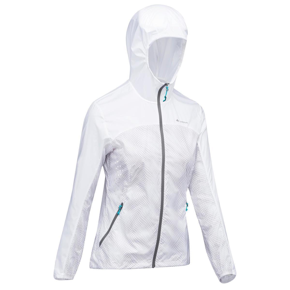Bild 2 von Windjacke Speed-Hiking FH500 Helium Damen weiß
