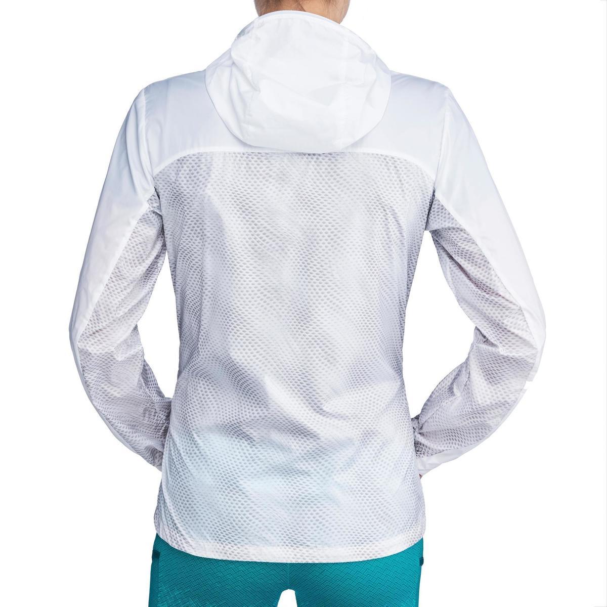 Bild 4 von Windjacke Speed-Hiking FH500 Helium Damen weiß