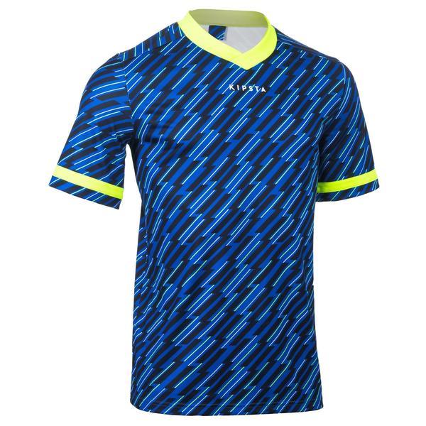 Rugbytrikot R100 Erwachsene blau