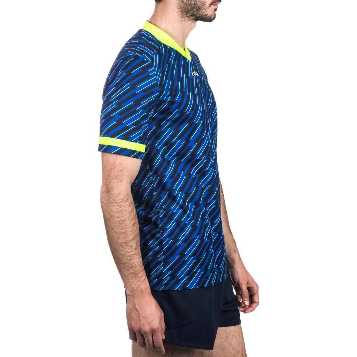 Bild 3 von Rugbytrikot R100 Erwachsene blau