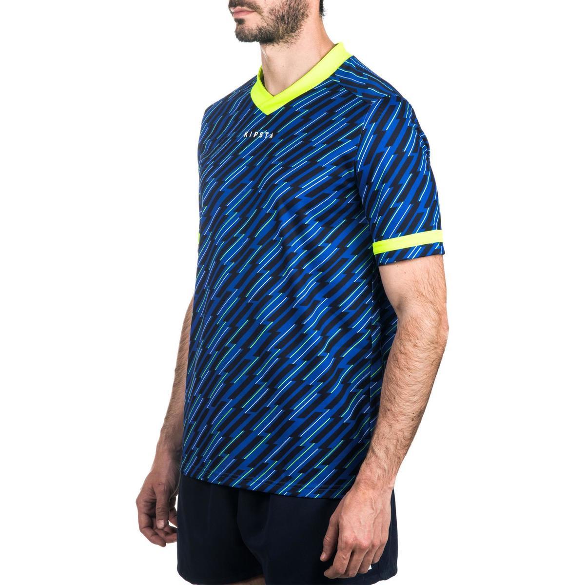 Bild 5 von Rugbytrikot R100 Erwachsene blau