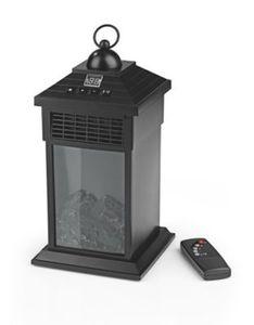 EASYmaxx LED-Laterne Flammeneffekt & Wärme 400W