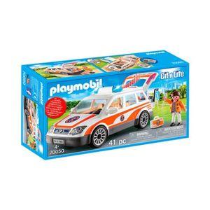 Playmobil®  CITY LIFE 70050 Notarzt-PKW mit Licht und Sound