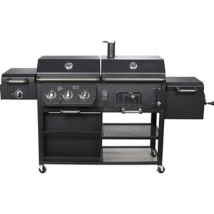 El Fuego® 4 in 1 Kombigrill Arizona Schwarz