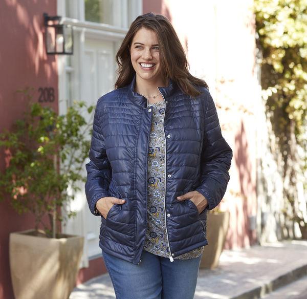 Laura Torelli plus (Gr. 44 58) Damen Jacke zum