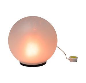 Glaskugel-Flammenlicht mit täuschend echtem Flammenlicht, Ø ca. 15cm