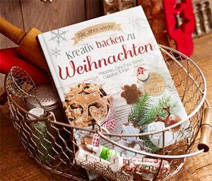 Buch »Kreativ backen zu Weihnachten«