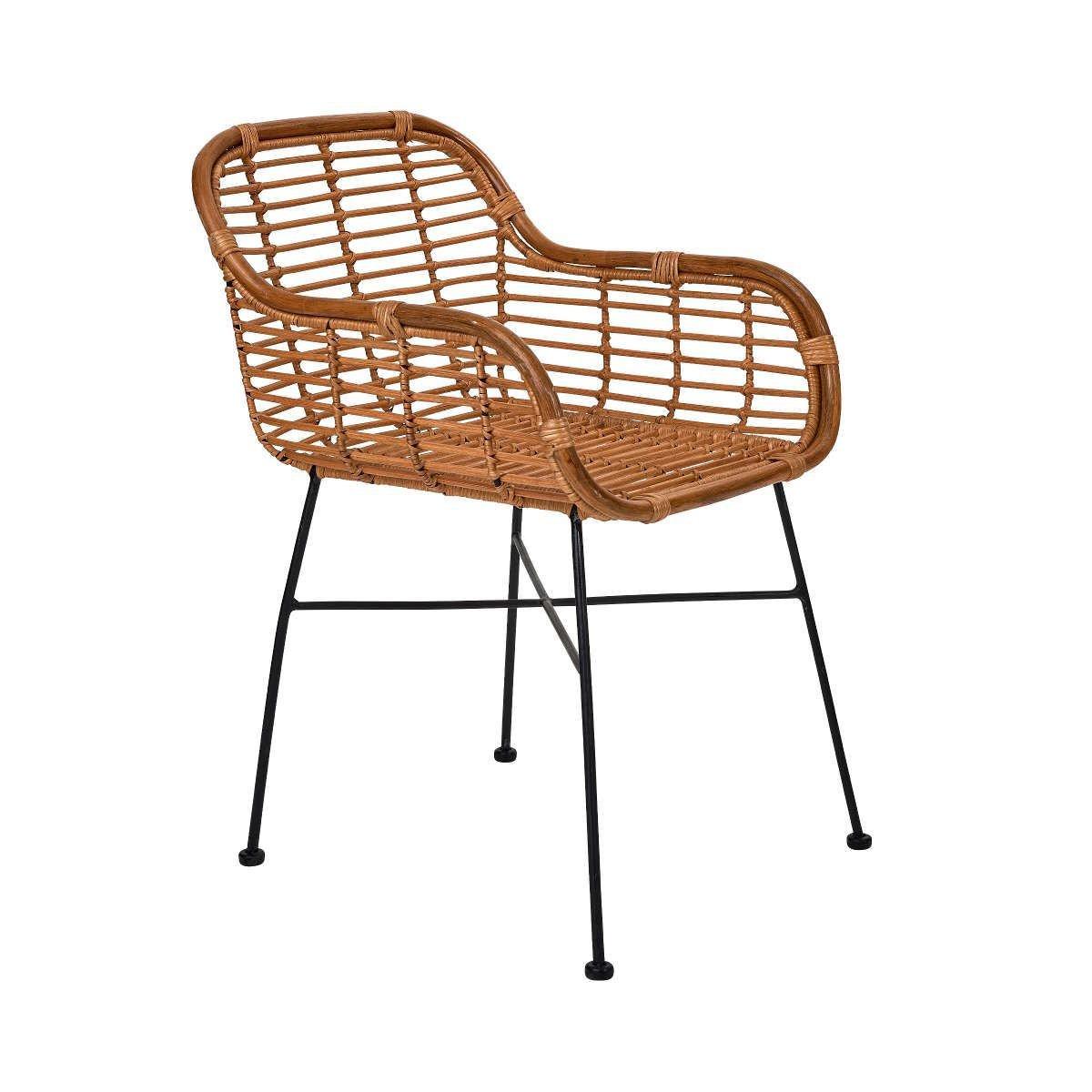 Bild 2 von Rattan-Sessel mit Armlehnen