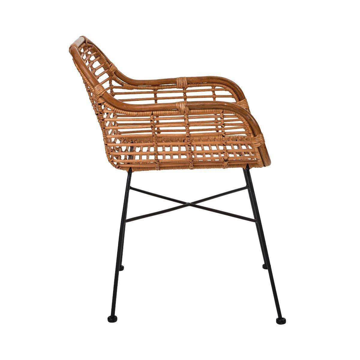 Bild 3 von Rattan-Sessel mit Armlehnen