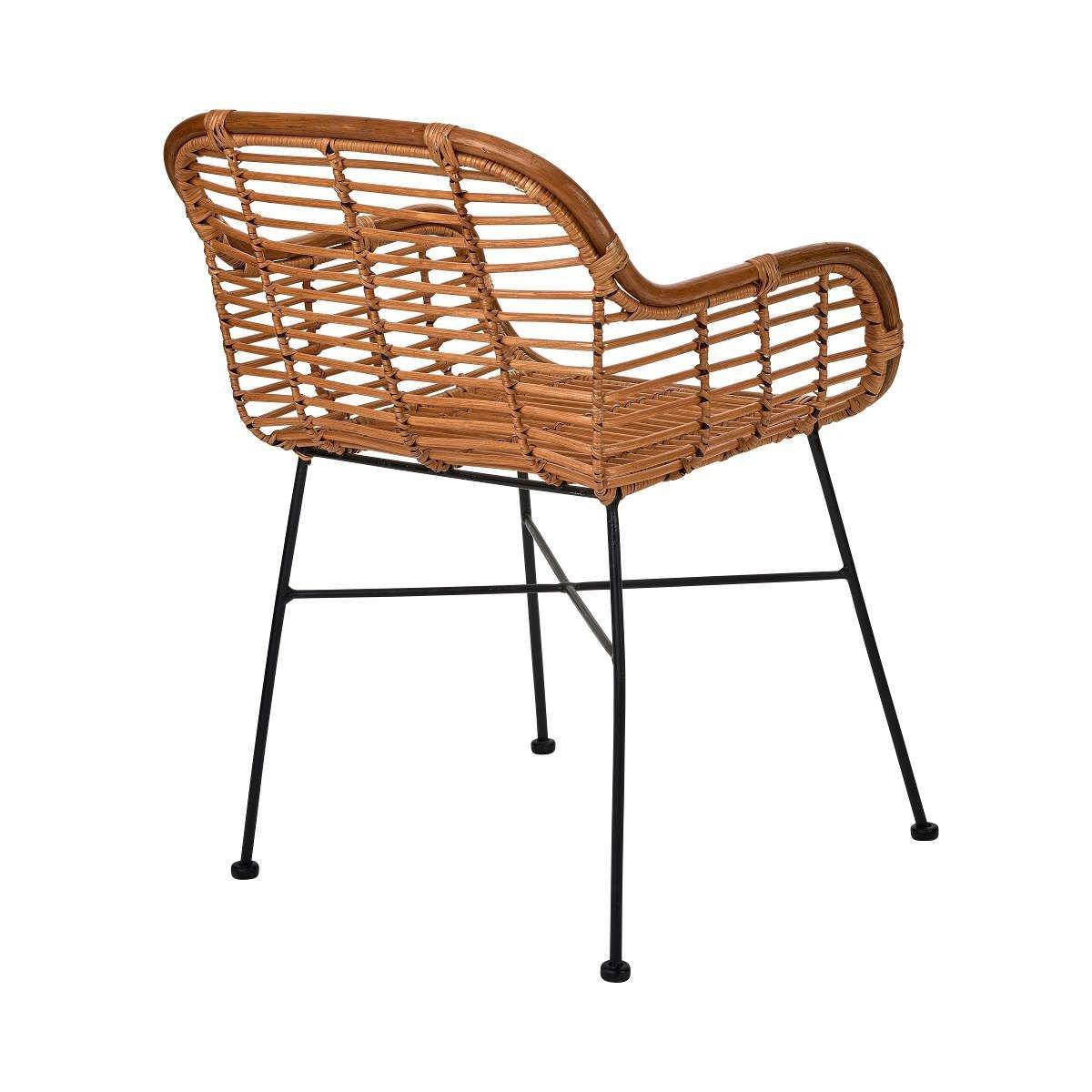 Bild 4 von Rattan-Sessel mit Armlehnen
