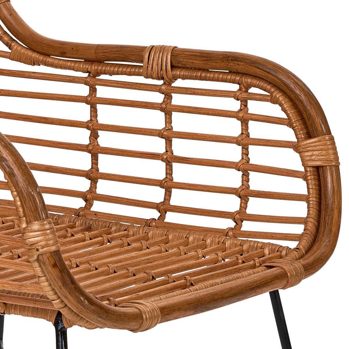 Bild 5 von Rattan-Sessel mit Armlehnen