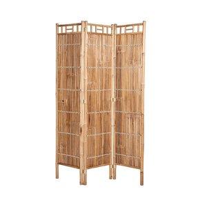 Paravent aus Bambus 120 x 180 cm