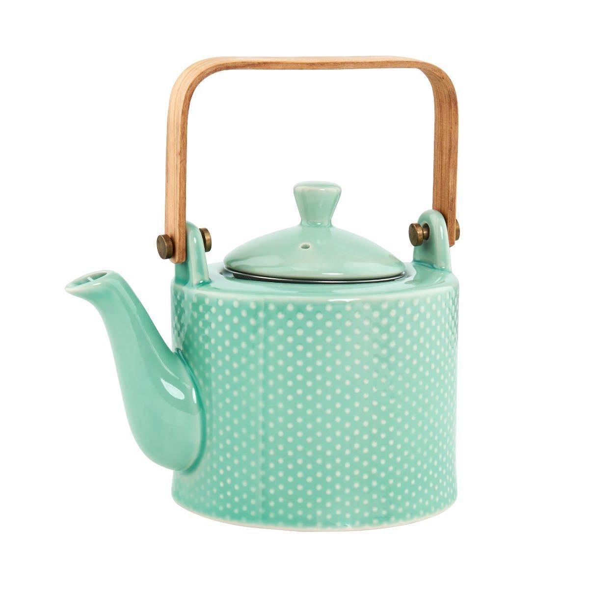 Bild 1 von Teekanne mit Holzgriff