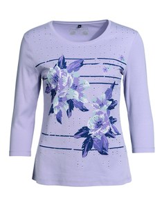 Bexleys woman - Shirt mit Blumendruck