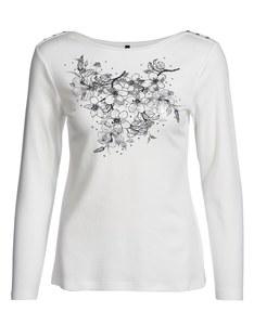 Bexleys woman - Shirt mit plaziertem Druck