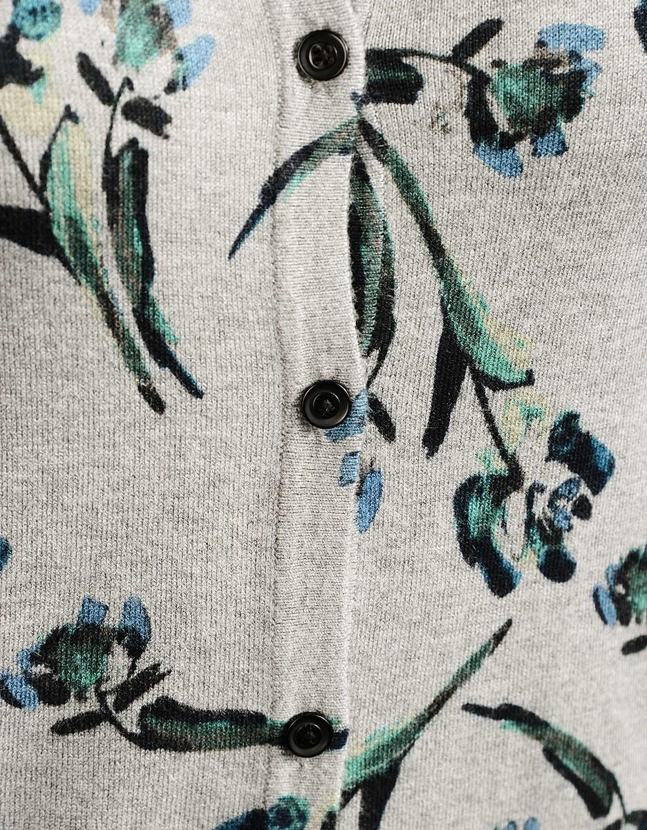 Bild 5 von Viventy - Strickjacke mit floralem Druck